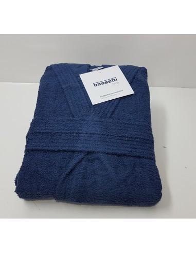 Accapatoio Bassetti con Cappuccio in Spugna - Colore: Blu