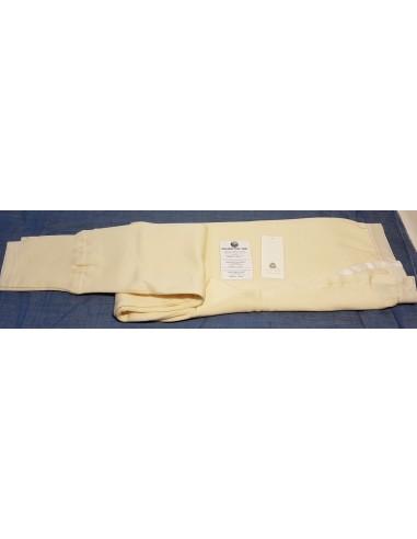 Mutanda  uomo  lunga invernale   lana 80%  Madiva Pompei   colore bianco