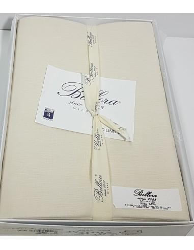 Taglio Tessuto  Puro Lino   Bellora articolo 315 Avorio   270 x 400