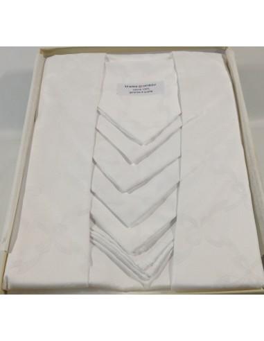 Servizio da tavola di  fiadra  x 12  Art. Perla  col. bianco