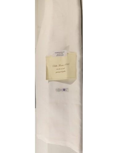Taglio Tessuto  Puro Lino   Trama ordito articolo  5 TL 2459 Bianco  270 x 400 circa  taglio da pezza metraggio